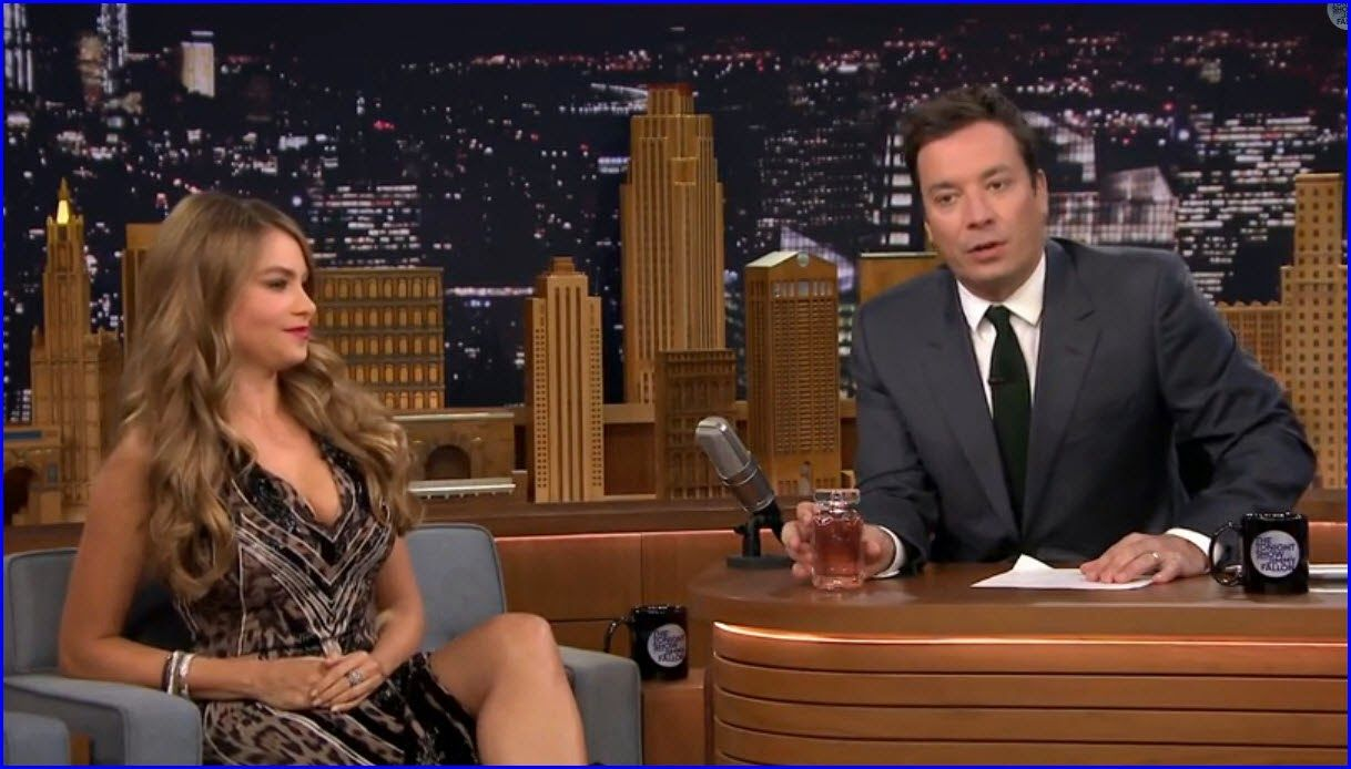"Watch: #SofiaVergara & Jimmy Fallon's Creepy ""Lip ..."