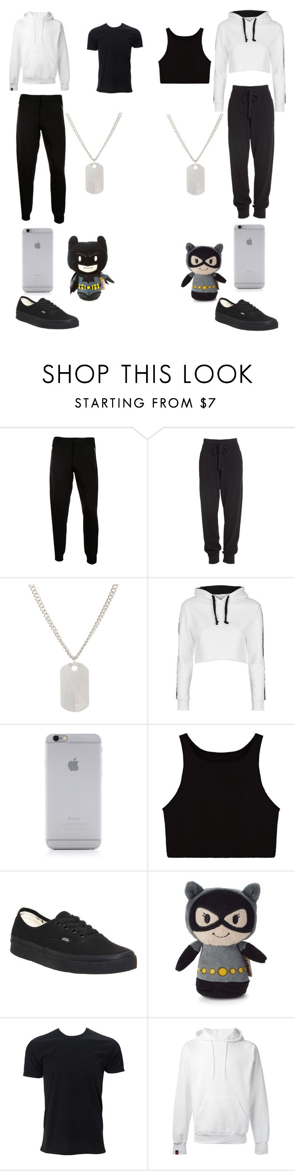 """Untitled #19"" by stephanie-brown13 ❤ liked on Polyvore featuring McQ by Alexander McQueen, Donna Karan, Loren Stewart, Topshop, Native Union, Vans and SWEAR"