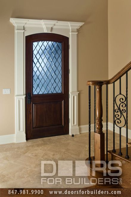 Wood front entry doors in stock single door with half diamond wood front entry doors in stock single door with half diamond glass raised planetlyrics Images