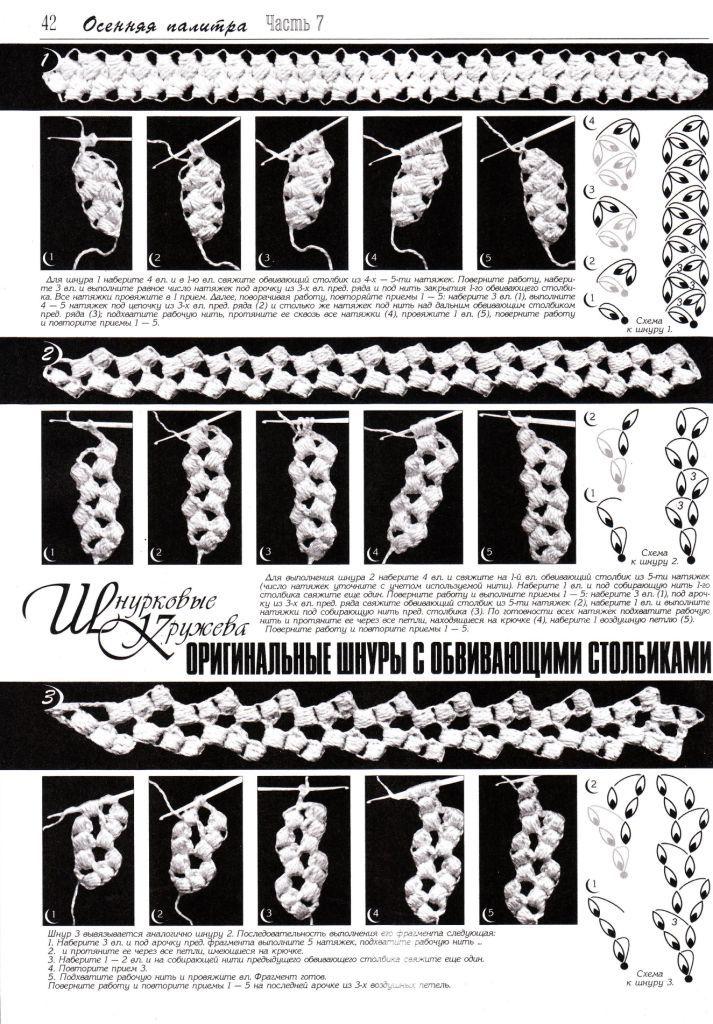 crochet cords #irishcrochetmotifs