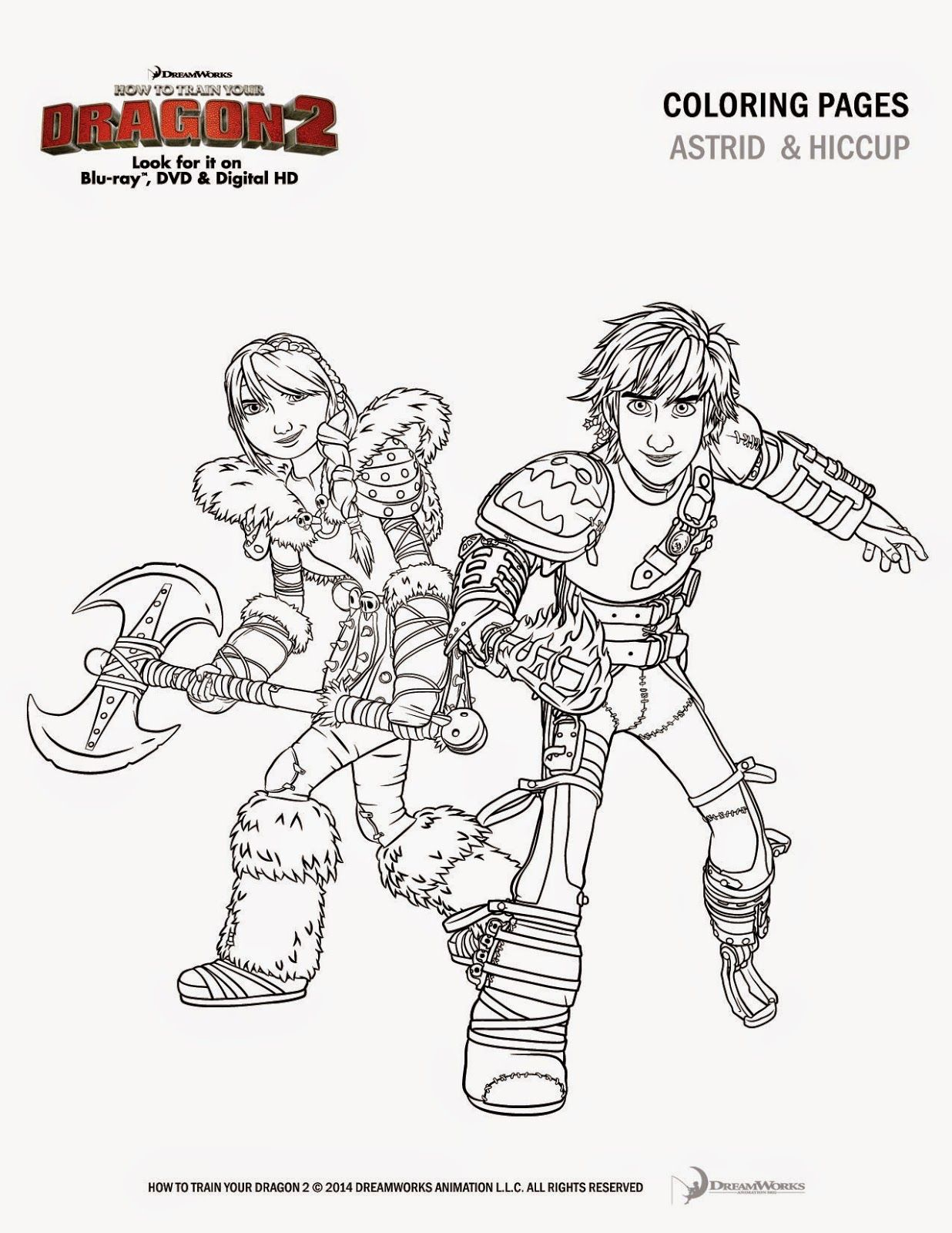Giveaway How To Train Your Dragon 2 In Blu Ray Dvd Dragonsinsiders Httyd2 Dragonsday Printables Train Coloring Pages How Train Your Dragon Dragon Coloring Page