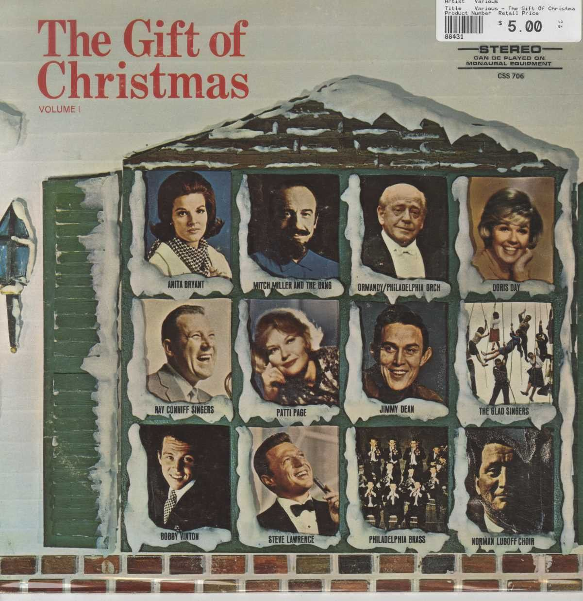 Various - The Gift Of Christmas Volume 1