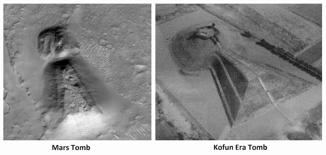 Artificial Structure Spotted on Mars Satellite Images that ...