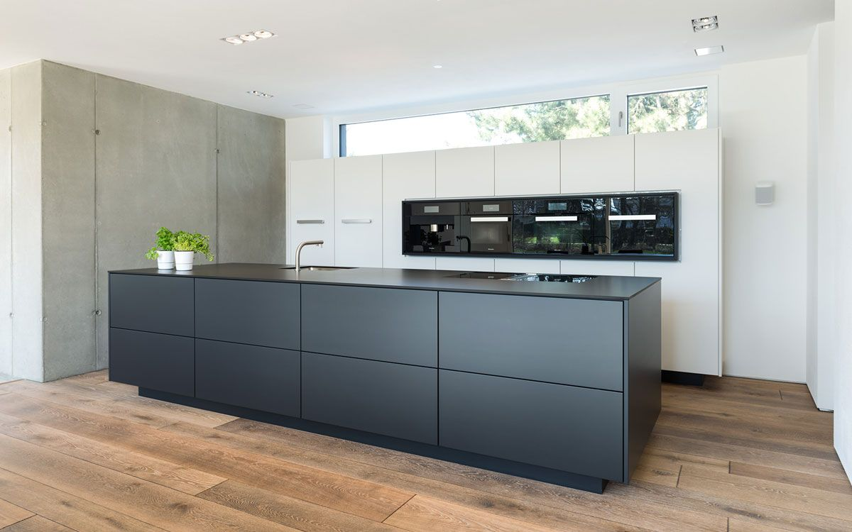 k che schwarz wei in 2019 k che. Black Bedroom Furniture Sets. Home Design Ideas