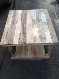 Used Rustic Pallet table w/shelf for sale in Hattiesburg ...