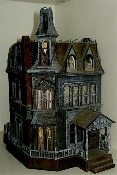Haunted Dollhouse Halloween Pinterest Dolls Haunted Dollhouse