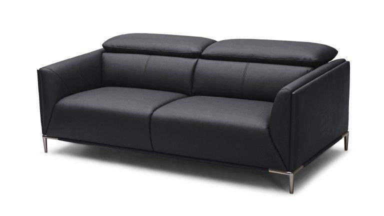 Canapé cuir Akano 3 places avec appuie tªte relevable