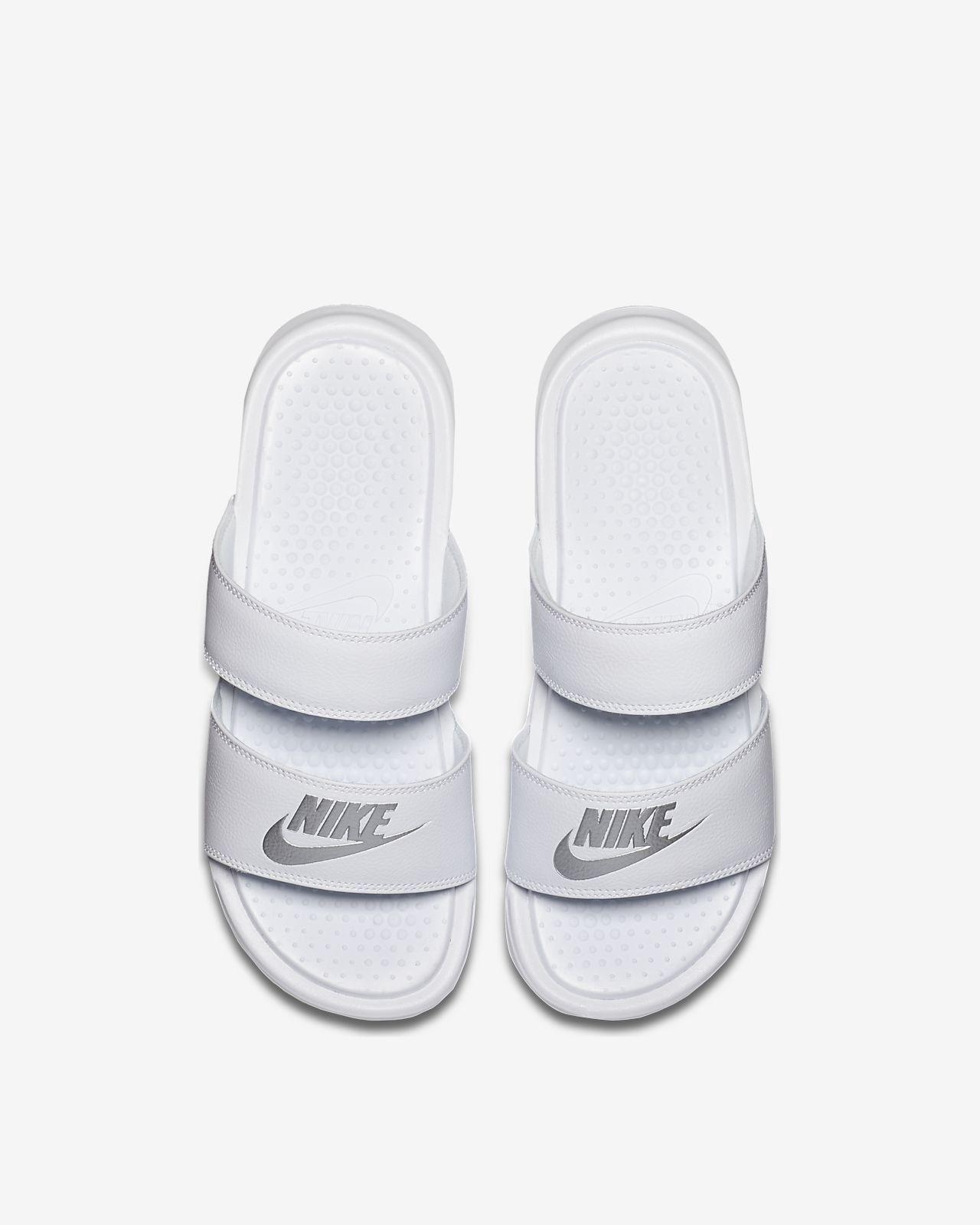 04328bf1a2a909 Nike Benassi Duo Ultra Women s Slide - 12 Silver