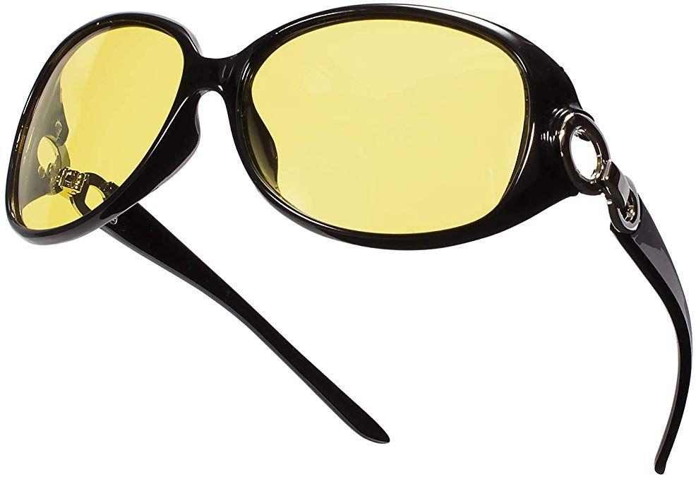 Womens Sunglasses For Driving Gradient Tint Lenses Stylish Plastic Frames