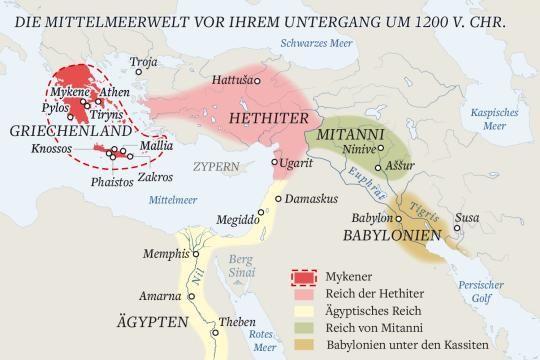 Weltuntergang 1177 V Chr Der Erste Kollaps Der Globalisierung