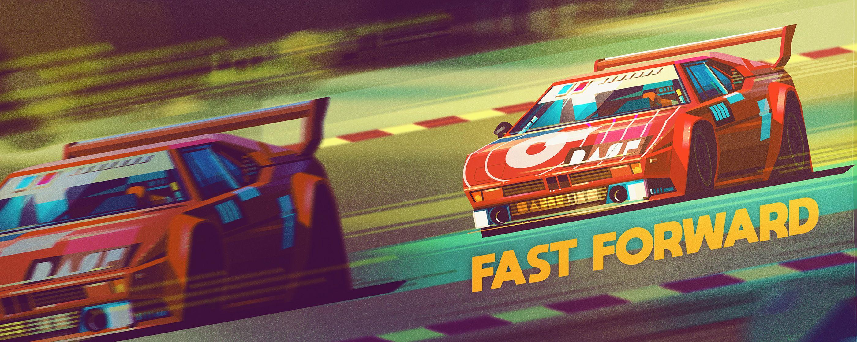 Behance Best Of Behance Racing Car Illustration Race Track