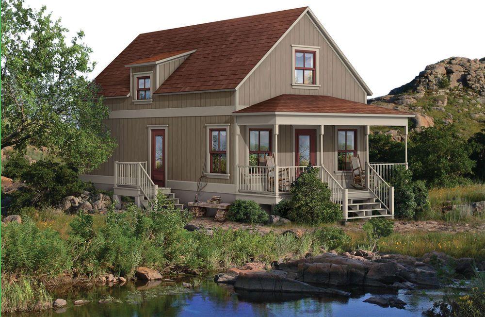 Steel Frame Cabin Kit - 3 Bedroom, 2 Bath, 1068 sqft | Cabin kits ...
