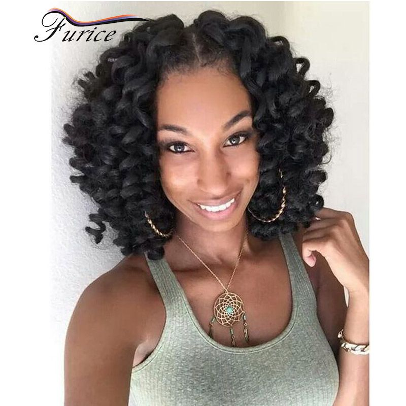 Hot Wand Curl Crochet Twist Hair 8 Inch Senegalese Synthetic Jumb Braiding