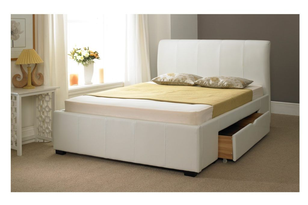 White Bed Frames With Storage white bed frames with storage | bed frames ideas | pinterest | bed
