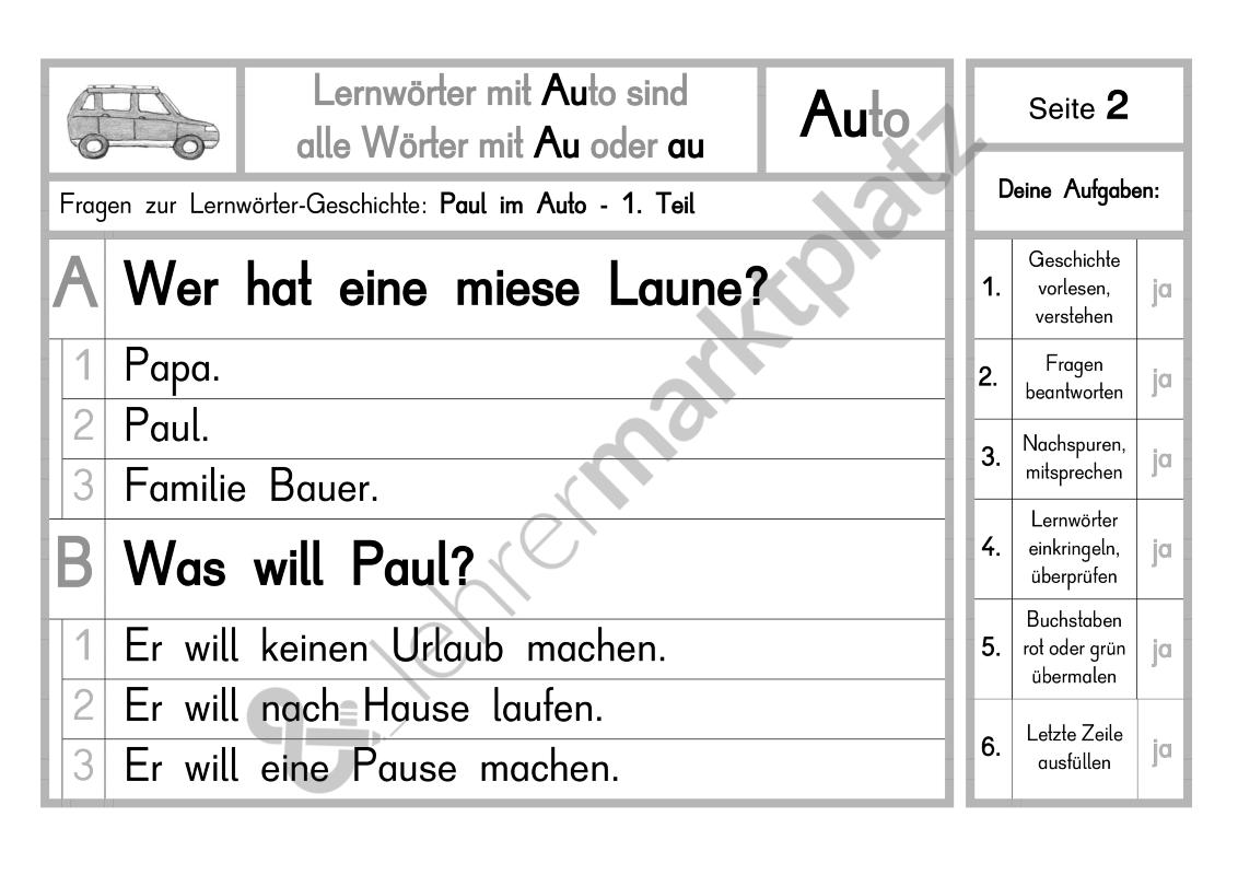 Konzentriertes Lese- und Schreibtraining - Seite 4   UKS-Material ...