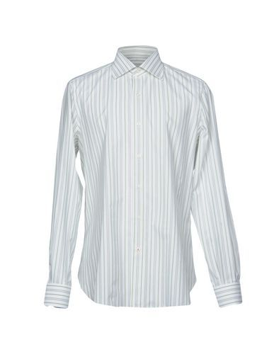 ISAIA Men's Shirt Green 16 ½ inches-neck