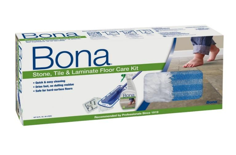 Bona WM710013385 Stone Tile & Laminate Floor Care Kit, 32