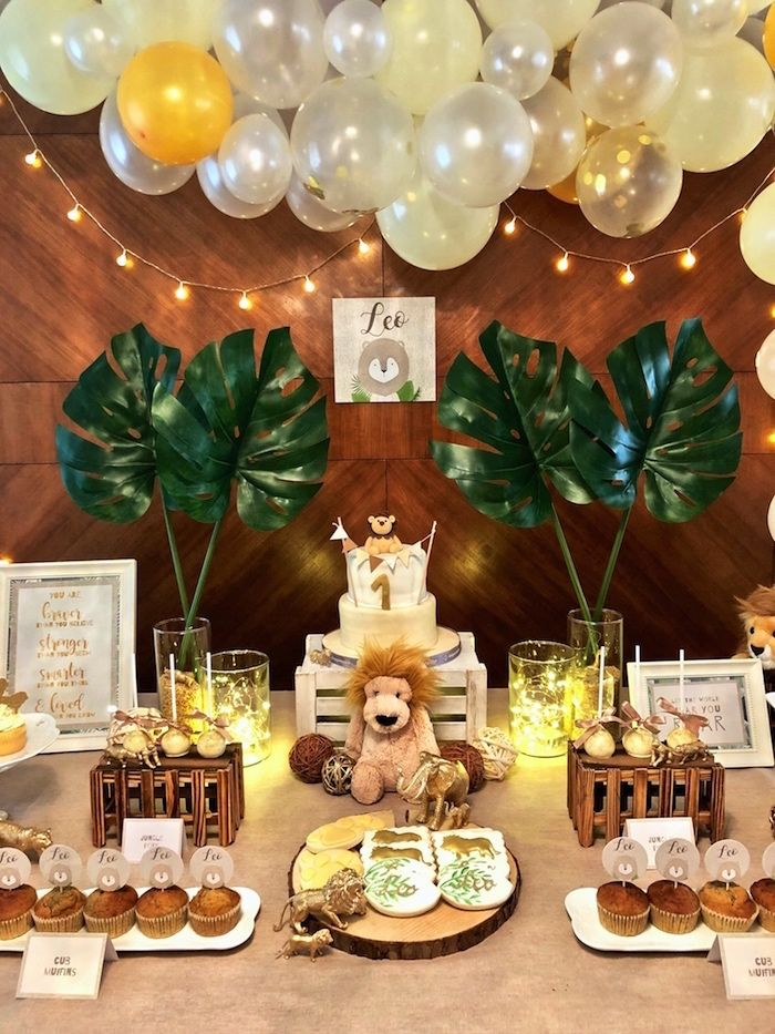 Little Lion Birthday Party | Kara's Party Ideas