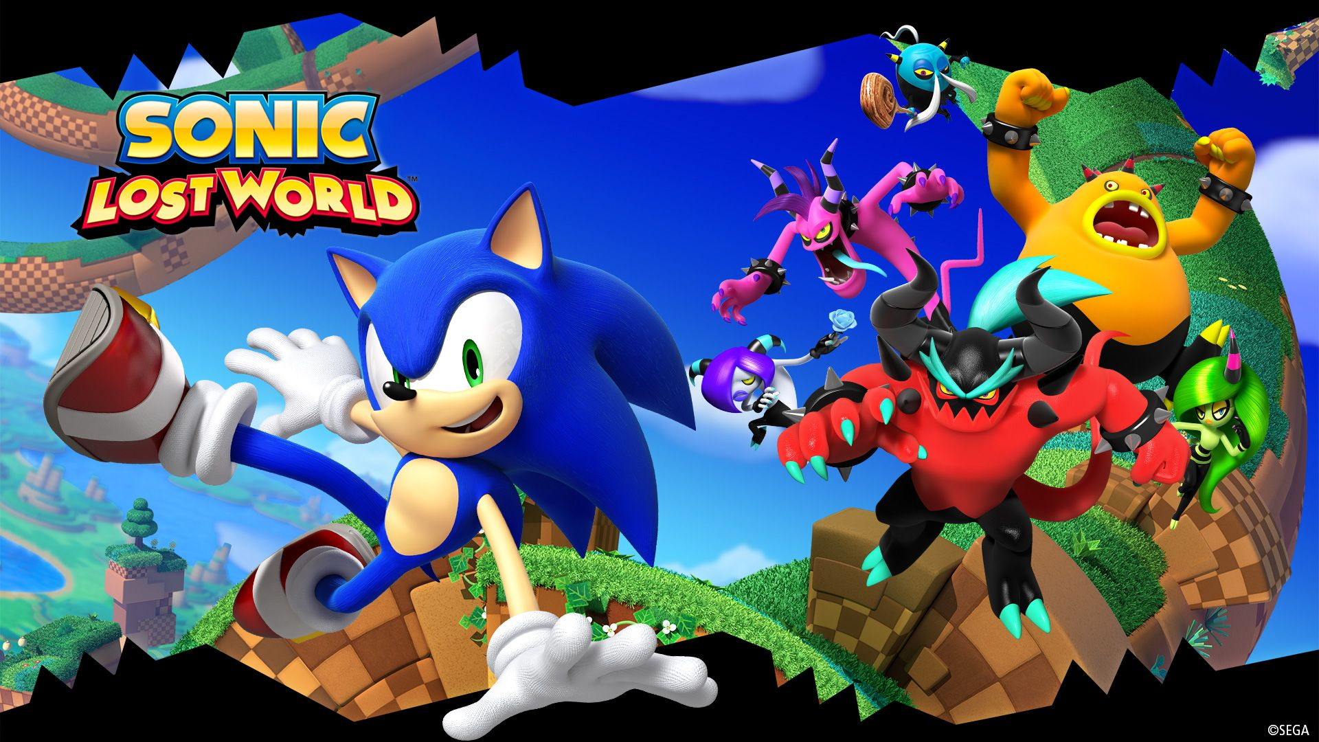 Sonic Lost World Wallpaper Sonic Movie Game World Wallpaper