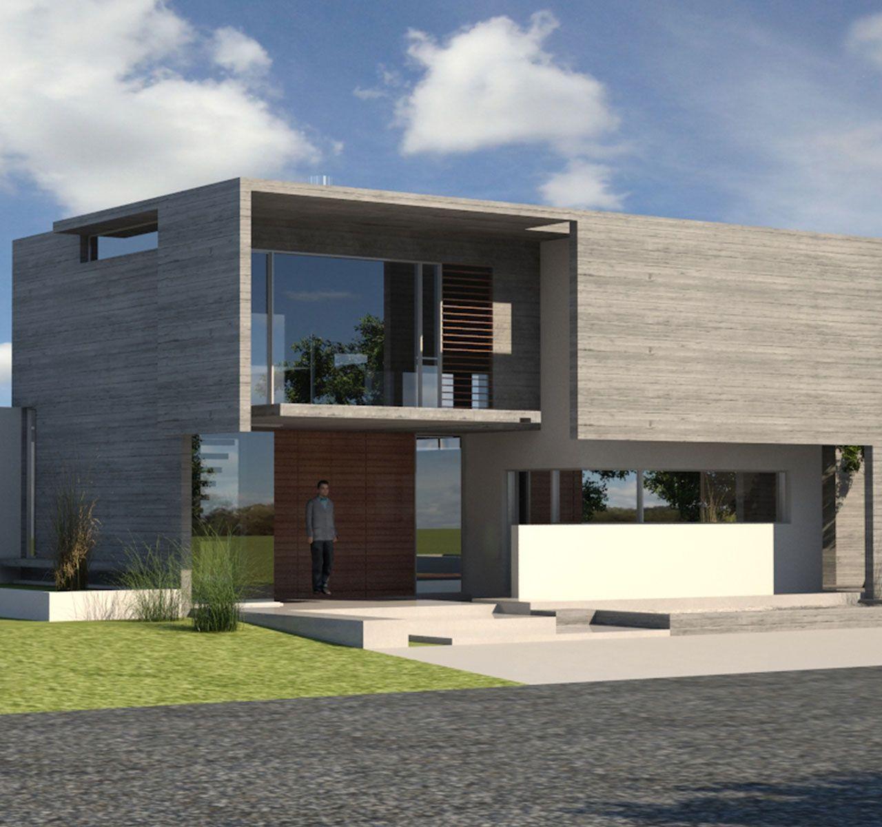 Pin de christian en cool arquitectura pinterest for Casas modernas hormigon visto