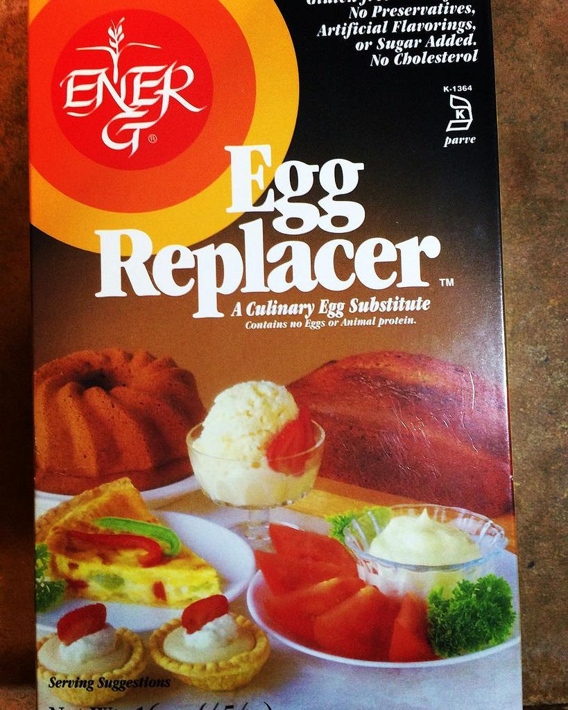 Egg replacer foods with gluten egg replacer food