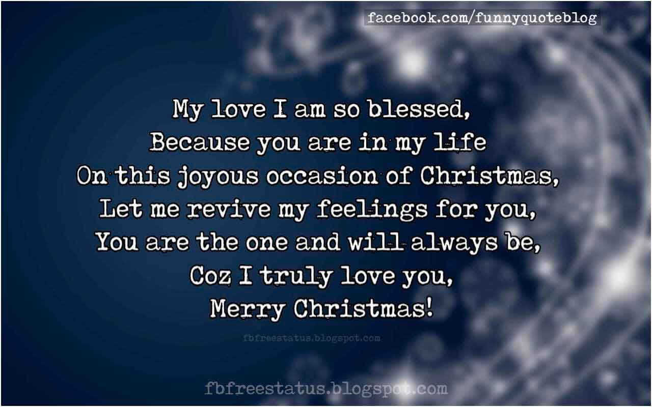 Medium Crop Of Christmas Love Quotes