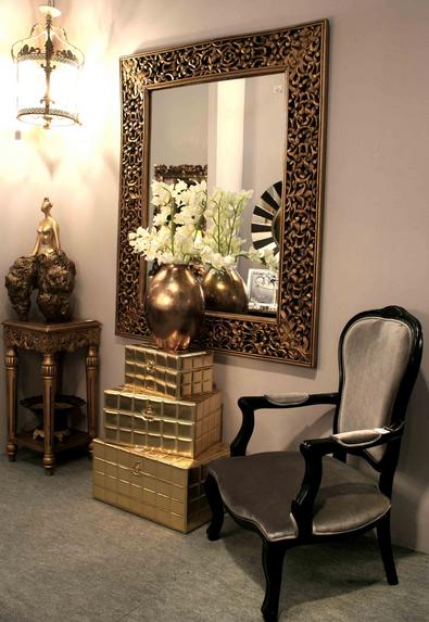 Decorar los ambientes y paredes con espejos dise o y - Decoracion de espejos ...