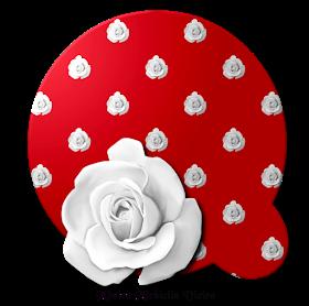 Alphabets By Monica Michielin Alfabeto Vermelho Com Rosa Branca Png Red Alphabet And White Roses White Roses Alphabet Rose