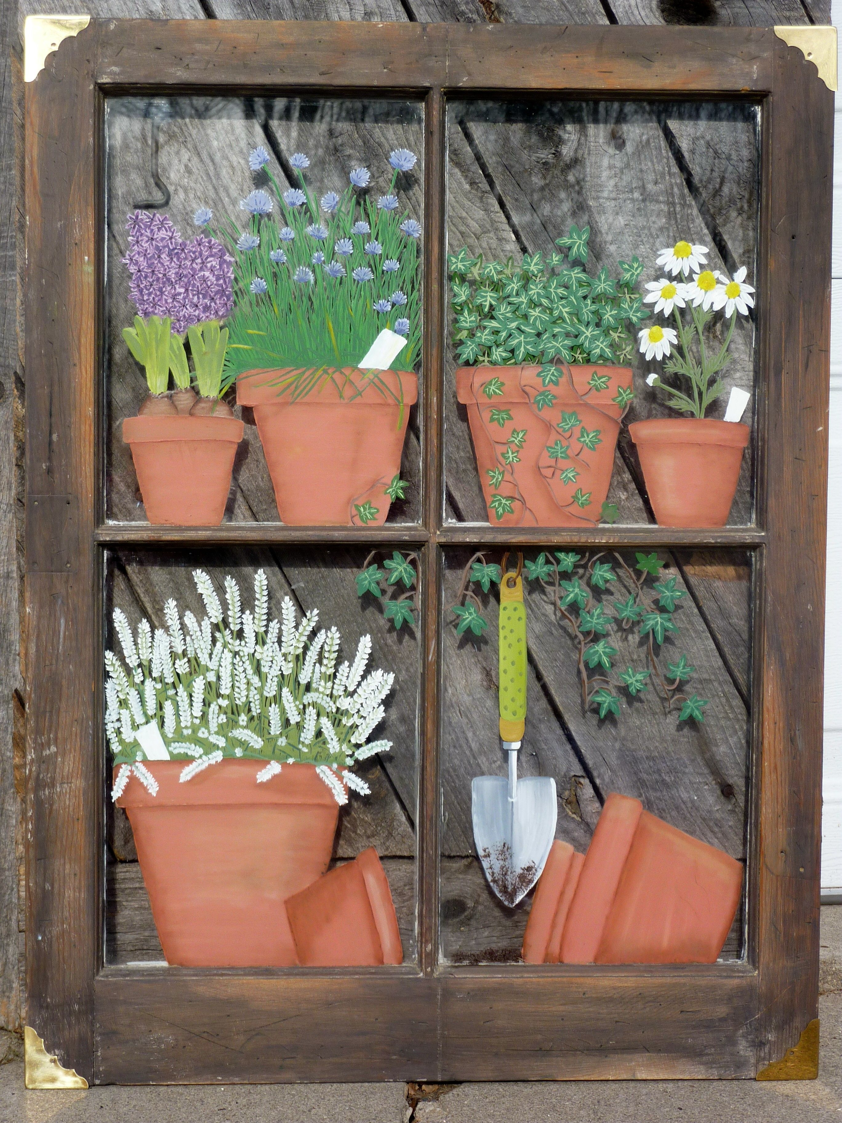 Decorative Windows For Houses Panes Of Art By Michele L Mueller Window Pane Art Wwwpanes Of