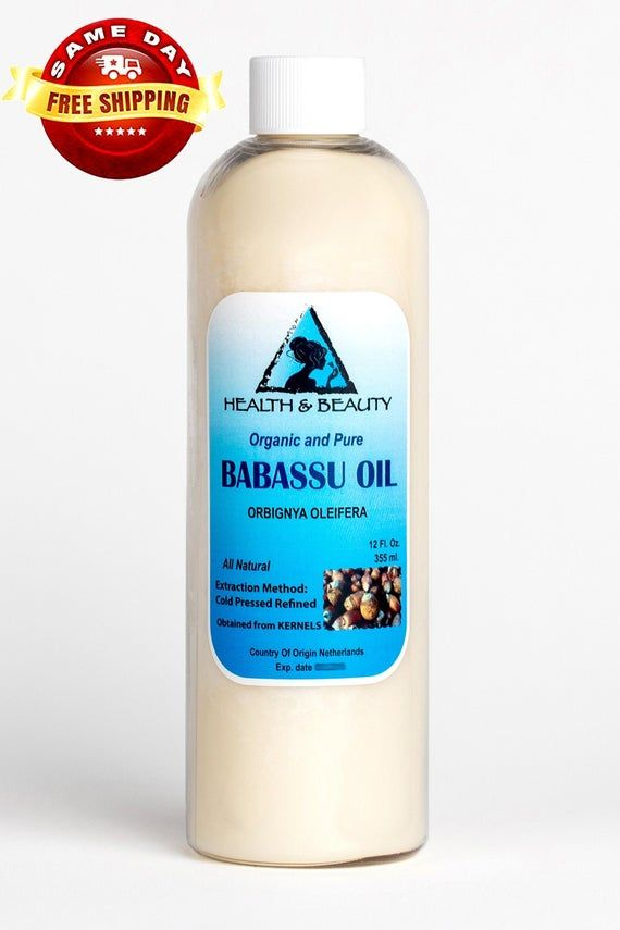 ORGANIC BABASSU OIL, COLD PRESSED, 100% PUREBotanical Name: Orbignya OleiferaExtraction Method: Cold PressedProcessing Type: RefinedObtained From: KernelsOrigin: The NetherlandsOrganic: Made without pesticides, GMO's, or hexane.Ingredients: Babassu Oil, 100% Pure with NO additives or carriers added.Description: Babassu is obtained from the kernels of the Babassu palm.Color & Consistency: A white opaque solid at room temperature. Product can be placed in a hot-water bath to liquefy.Aromatic Descr