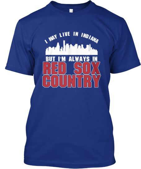 FEBRUARY ONLY! Indiana for Red Sox   Teespring