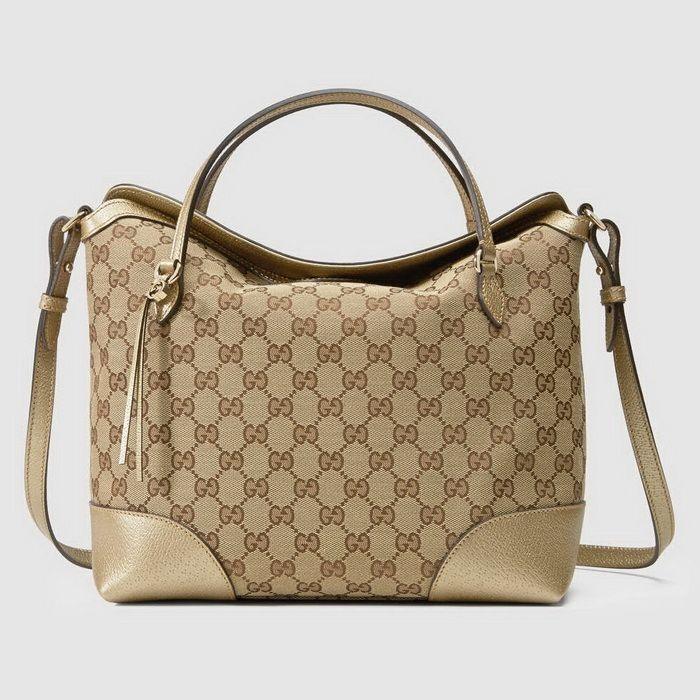 Tas Branded Terbaru Gucci Bree Original Canvas GG top handle 353120 ... 1a5538a95a