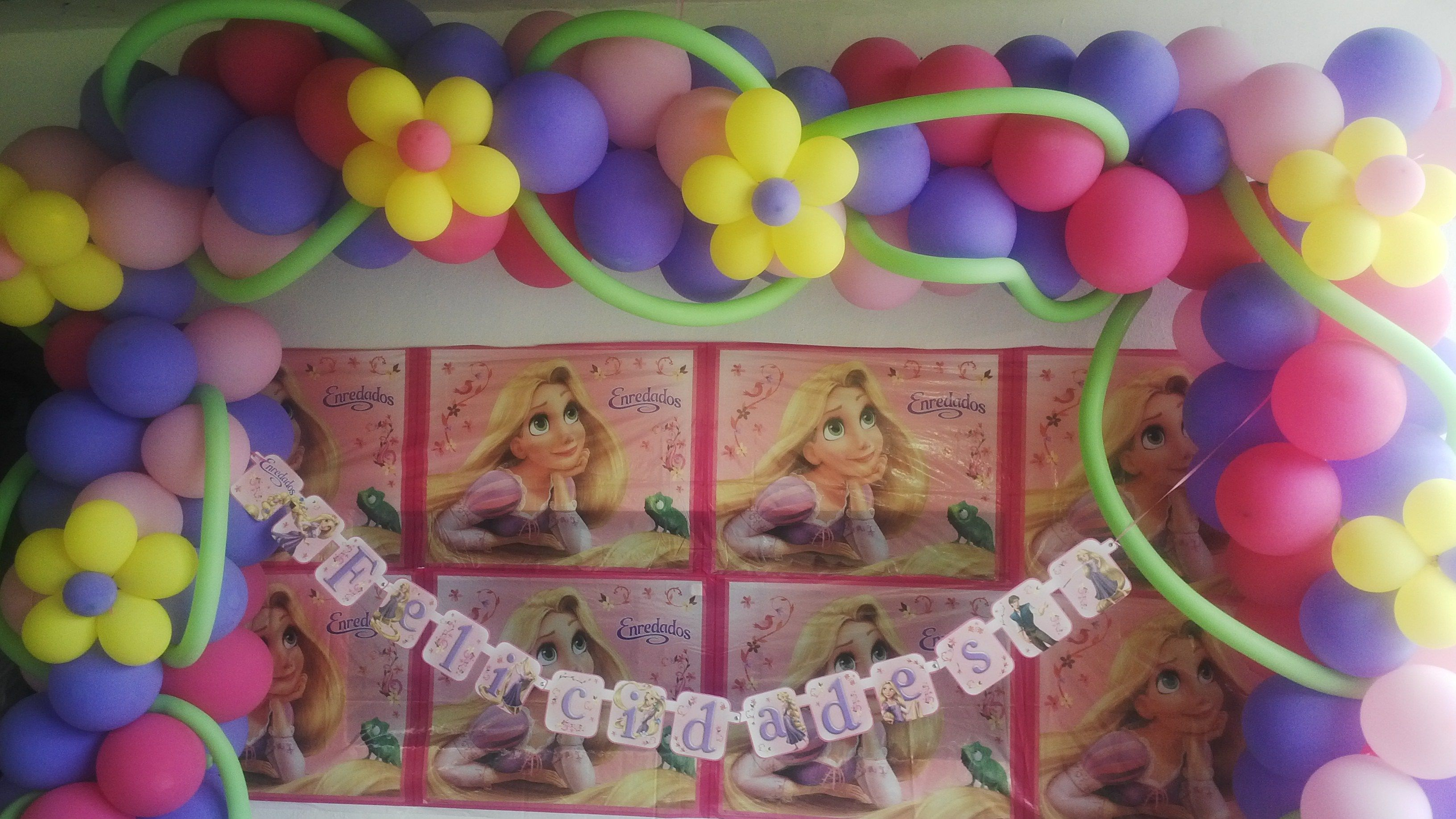 Decoracion Rapunzel, Globos Rapunzel, Decoration In, Rapunzel Higuey