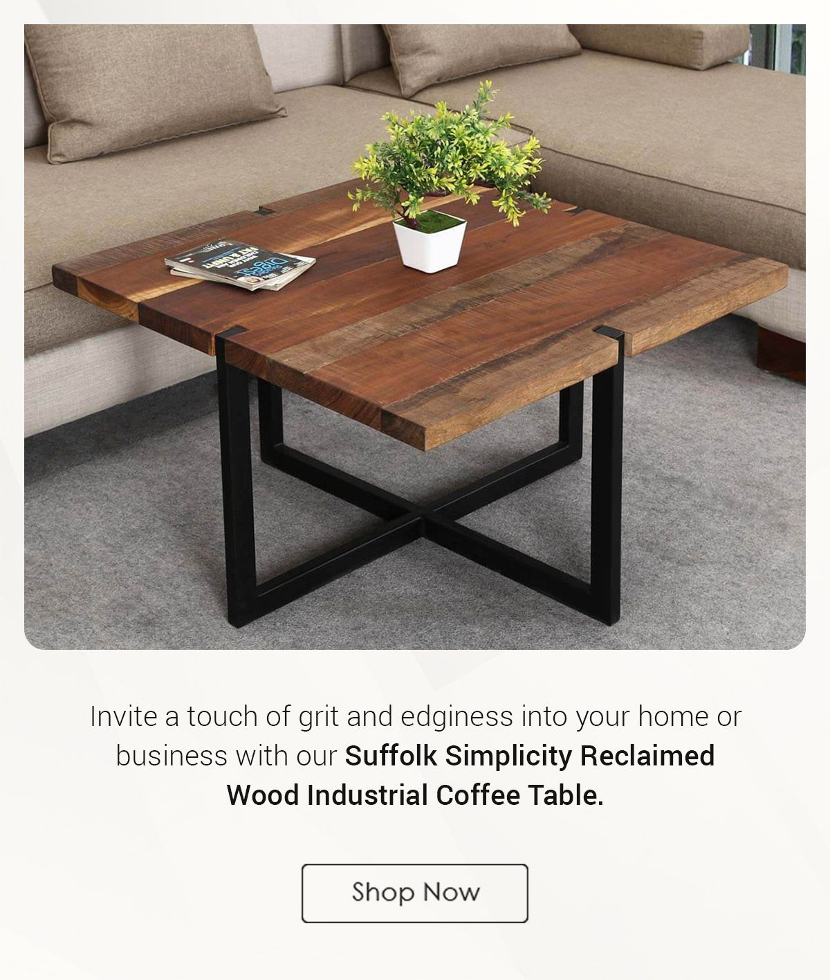 Suffolk Reclaimed Wood Iron Square Coffee Table Coffee Table Coffee Table Square Old Wood Table [ 1416 x 1200 Pixel ]