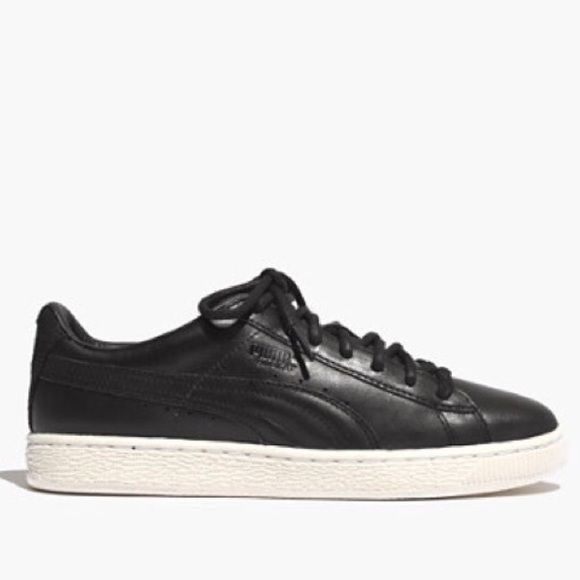 ISO Looking for these black leather Pumas In a size 7.5 and in good condition! Puma Shoes Athletic Shoes