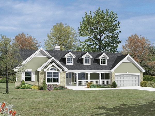 Foxridge Country Ranch Home Ranch Style House Plans Ranch House Plans Country House Plans