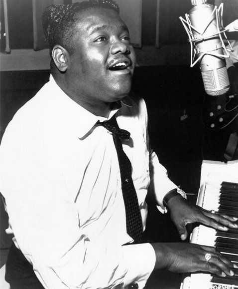 """Antonie """"Fats"""" Domino on his rocking, visceral blues in New Orleans: """"I never thought about no music.  It's just something I guess the Lord gave me...I don't know if I changed music or not, but that's how I liked it, and that's what I stuck with."""""""