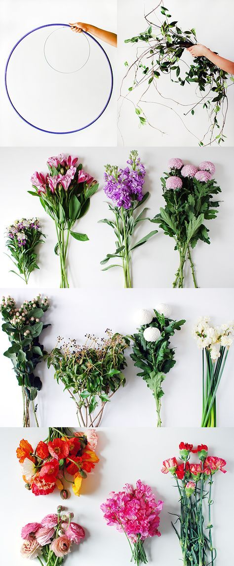 Tutorial make a hanging flower chandelier for your next party materials to make a diy fresh flower hanging chandelier photo lisa tilse for we are scout aloadofball Choice Image