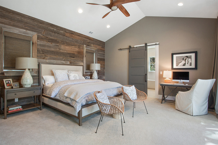 20 inspiring Modern Rustic Bedroom Retreats | Rustic master ...