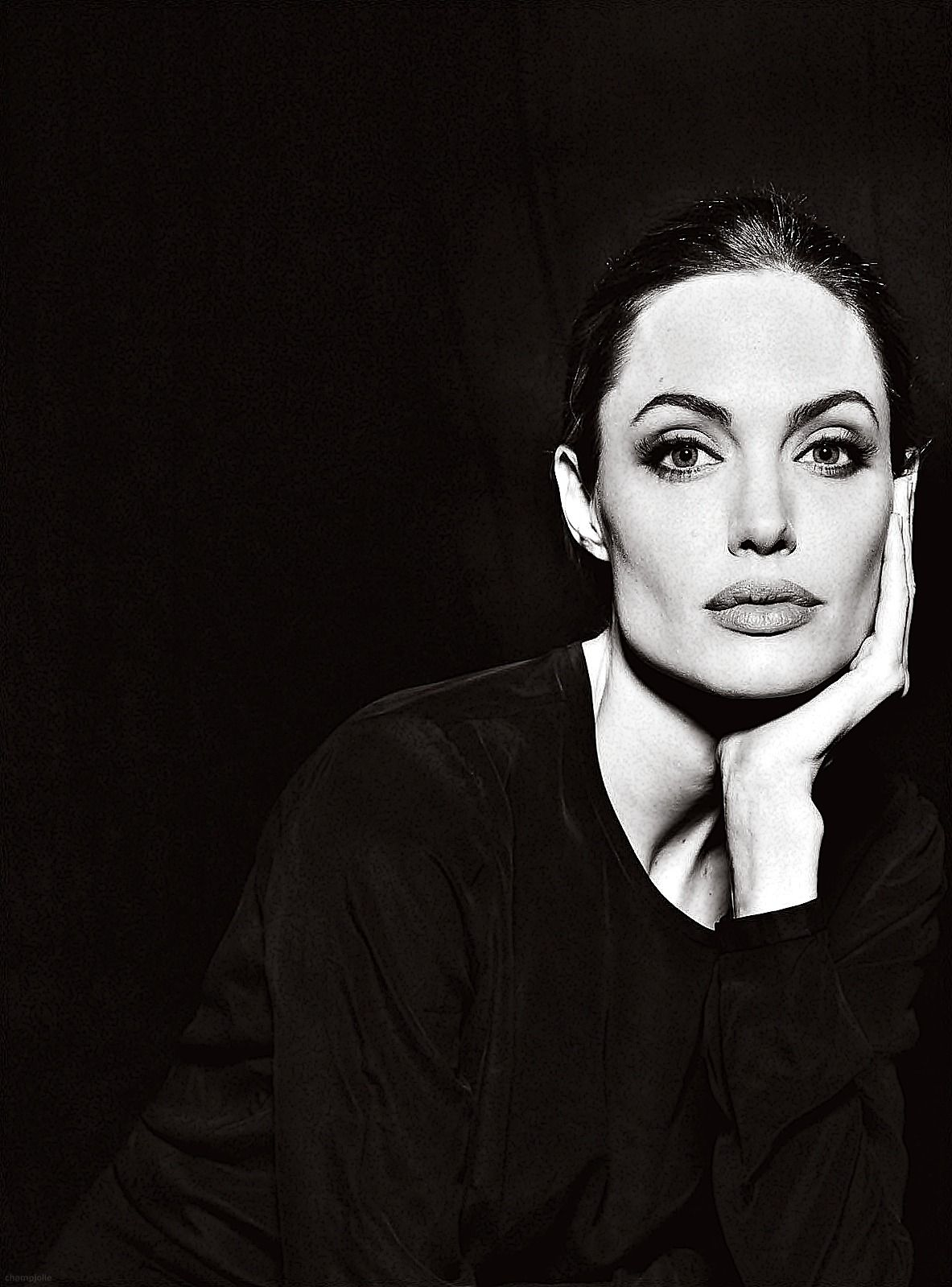The idea of simplicity angelina jolie by annie leibovitz celebs
