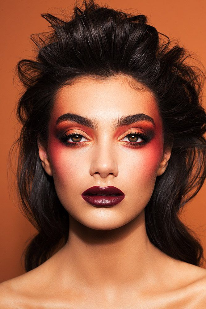 Sheny Raz December 31st, 2017 Vogue makeup, Photoshoot