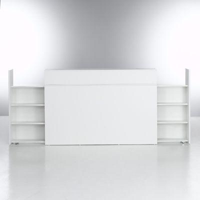 tête de lit avec rangements appartement Pinterest Rental