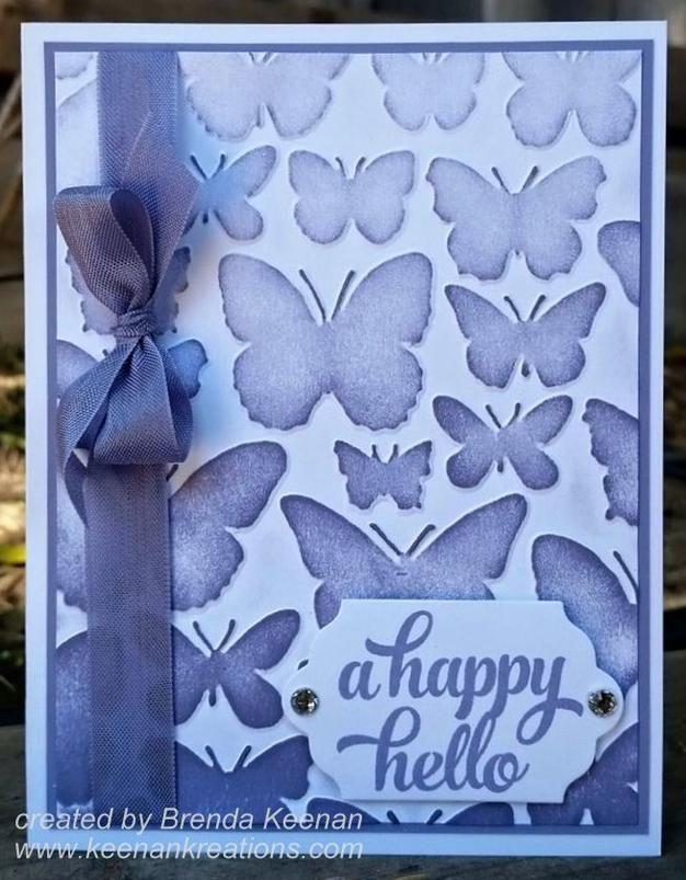 Stampin' Up! Fluttering Embossing Folder