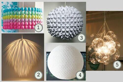 Lámparas de diferentes tipos Projects to Try Pinterest