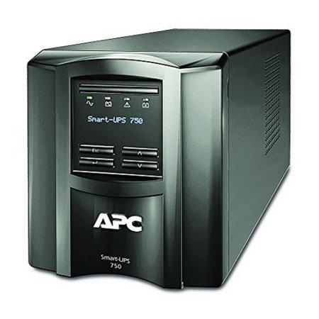 Apc Smt750c 750va Smart Ups With Smartconnect Remote Monitoring App Black Apc Smart Ups Ups System Apc
