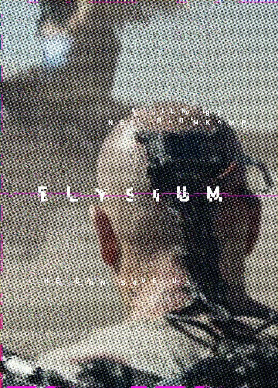 Day 305 elysium amovieposteraday movie posters