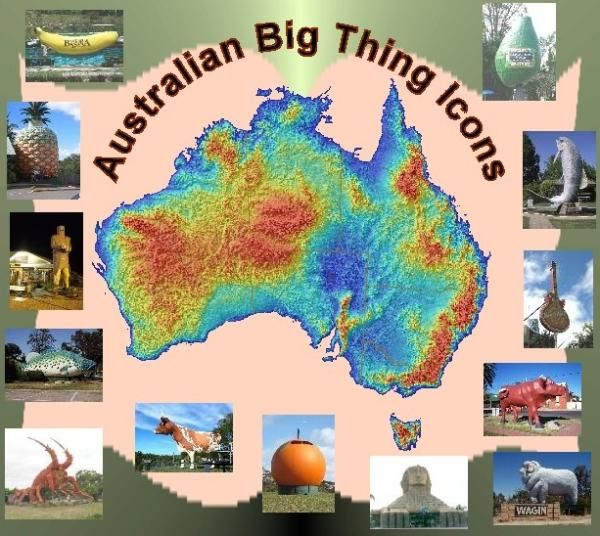 25eed74a Australian Big Thing Icons • big things Australia tour | bigger than ...