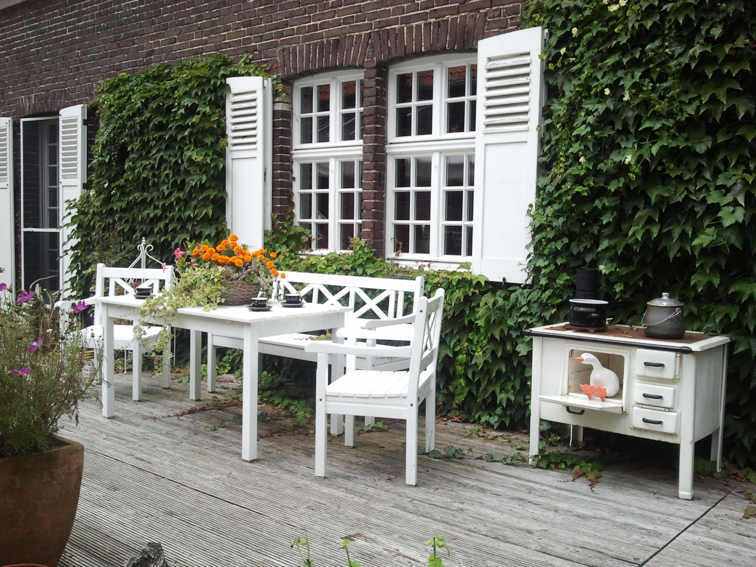 Schön Gartendeko Aus Alten Holzbalken Ideen