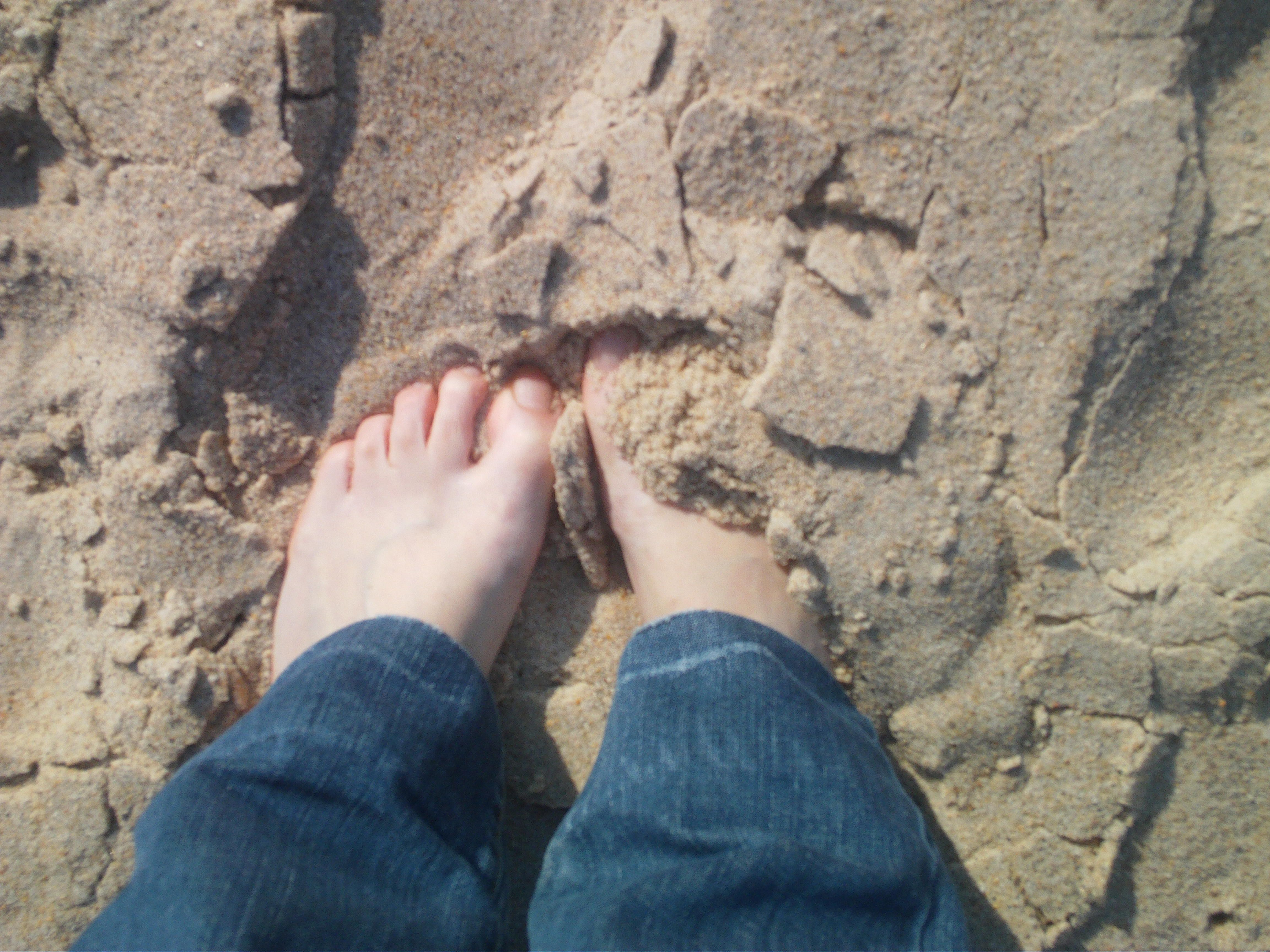 Sand at my feet