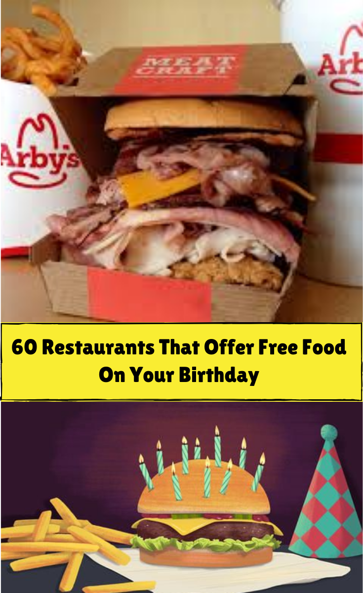 fast food places that give free food on birthdays